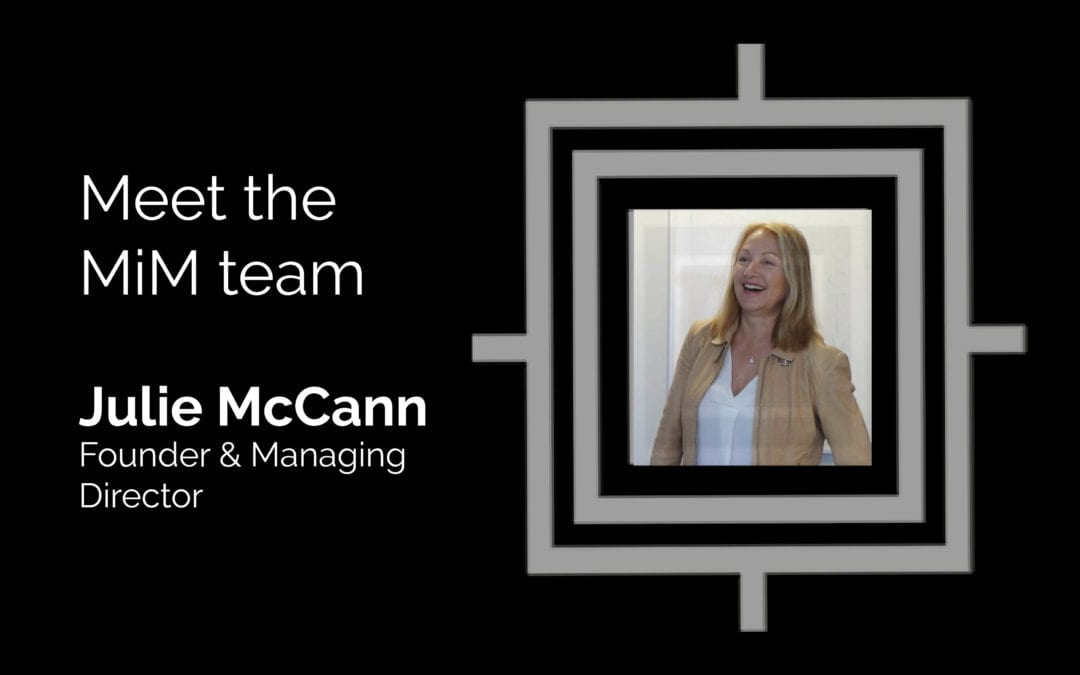Get to know the MiM team – Julie McCann