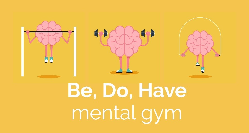 August's Be, Do, Have mental gym